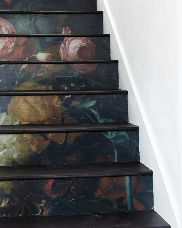 Floral stair case Old Home Love