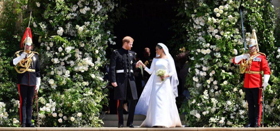 2 Meghan and Harry royal wedding reception flowers