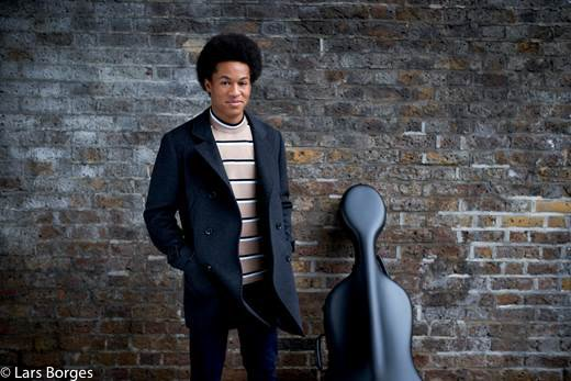 Harry and Megan Royal Wedding Sheku Kanneh-Mason cellist