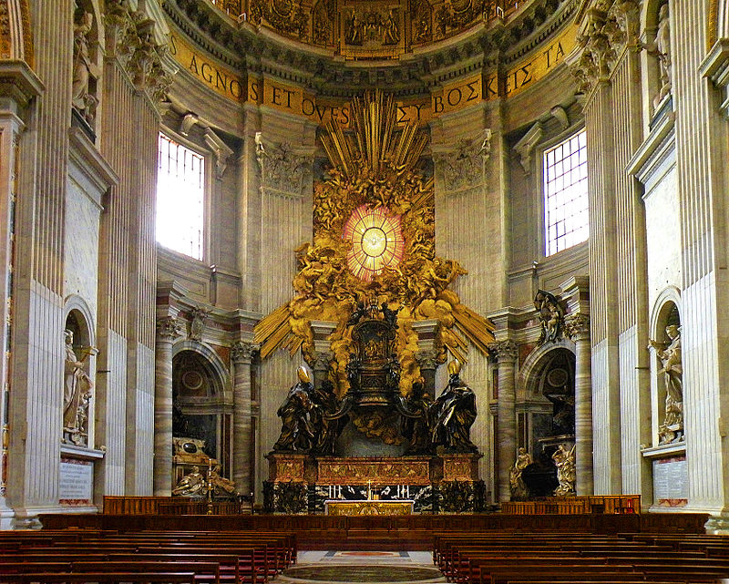 St. Peter's Basilican Chair of St Peter Met Gala