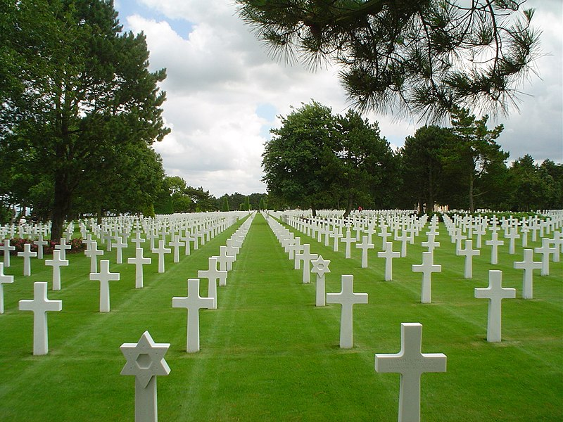 Travel Tuesday American cemetery Normandy power of observing