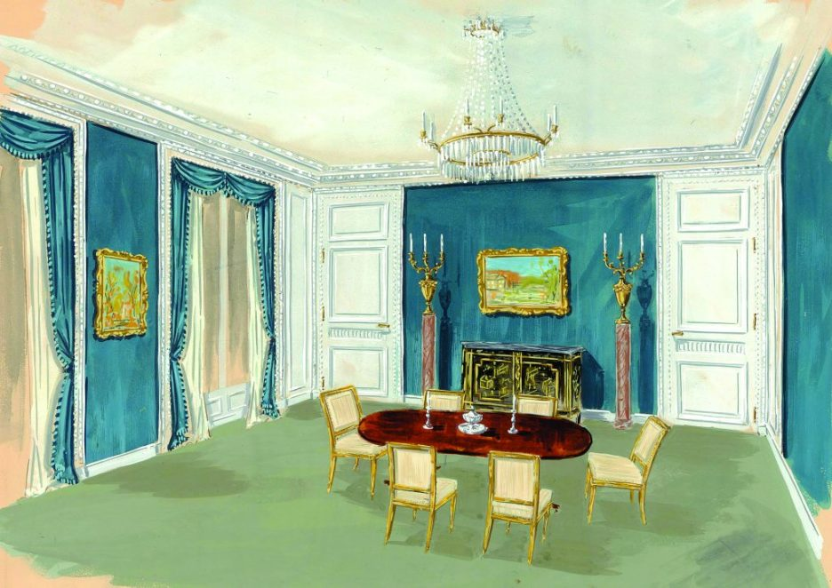 Henri Samuel Master of the French Interior Lasser sketch linda merrill blog versailles grand designs