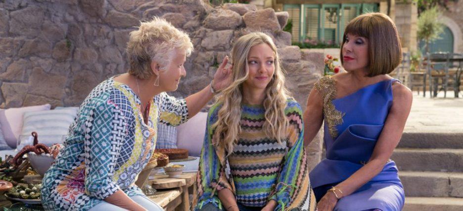 Mamma Mia Here We Go Again Julie Walters Amanda Seyfried Christine Baranski