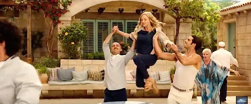 Mamma Mia here we go again courtyard