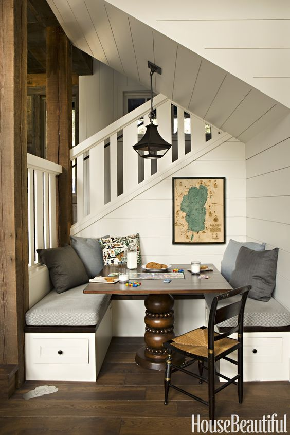 Designer Matt O'Dorisio Lake Tahoe games corner nooks and snugs