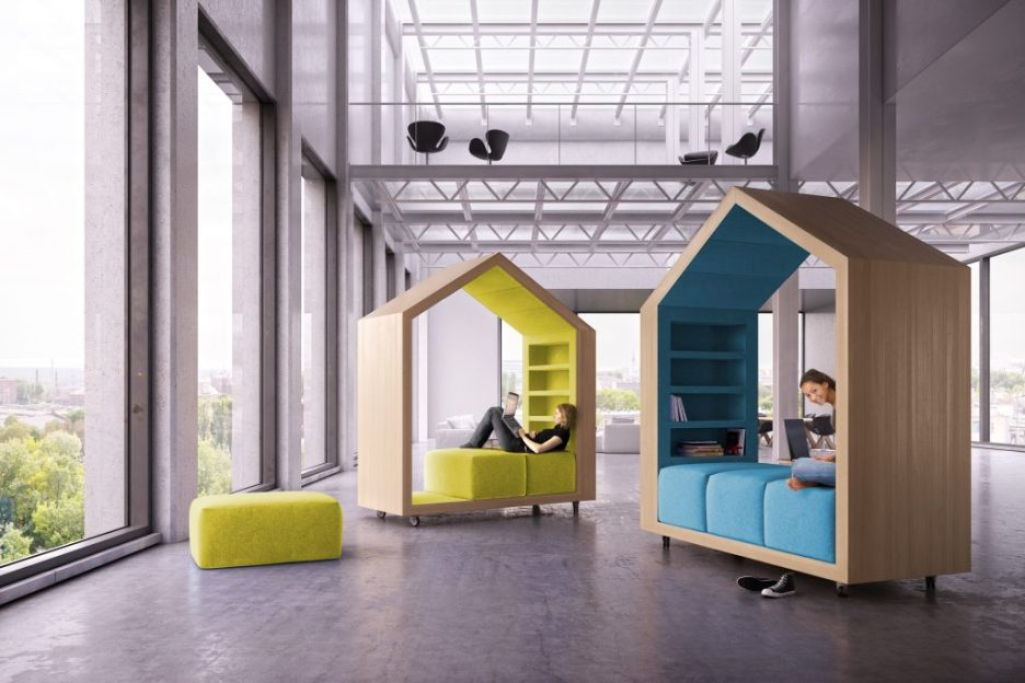 Malcew modular portable reading nooks