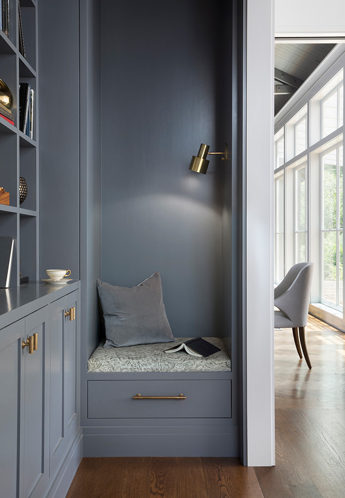 Reading nook Architect Andrew Mann PHOTOGRAPHY BY PAUL DYER PHOTOGRAPHY nooks and snugs