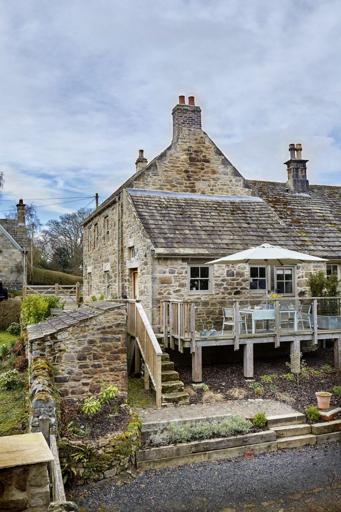 Tudor stone bastle Northumberland England Photo by Brent Darby Country Living Stone cottage