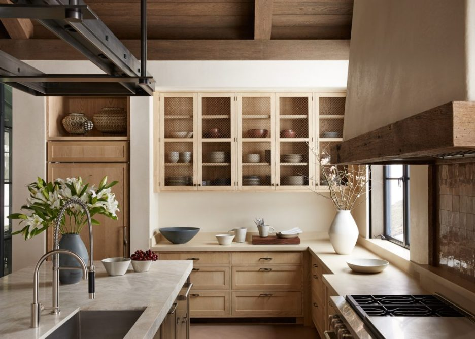 Design Brad Krefman Photo Tim Williams Rustic Kitchen
