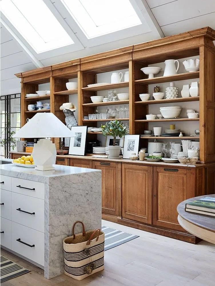 Benjamin Dhong rustic kitchen