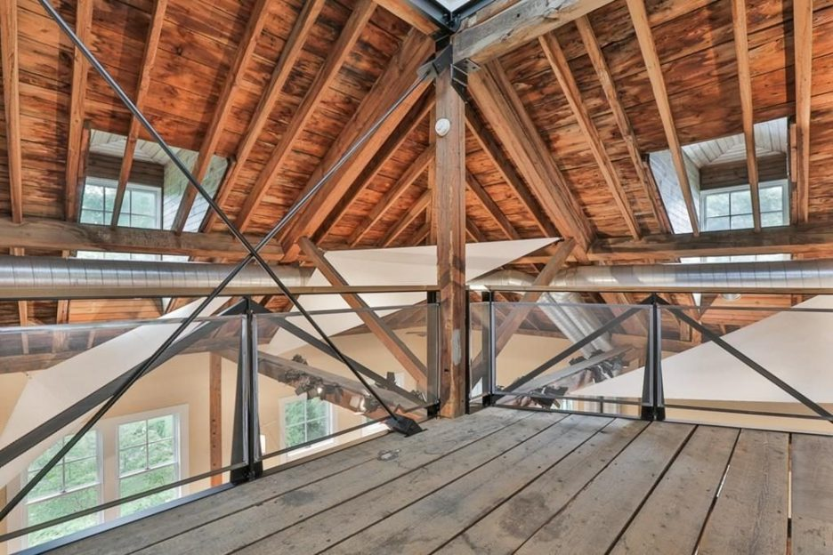 Newburyport modern carriage house conversion Andrew Sidford Architect Interior 6