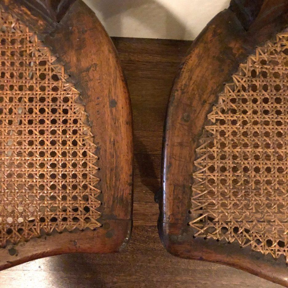 Linda Merrill Staycation Isabella Stewart Gardner museum 18th C French cane chair seats