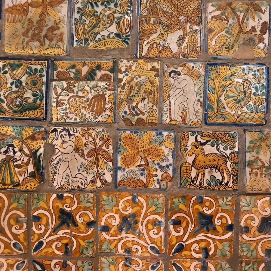 Linda Merrill Staycation Isabella Stewart Gardner museum Spanish wall tiles 1