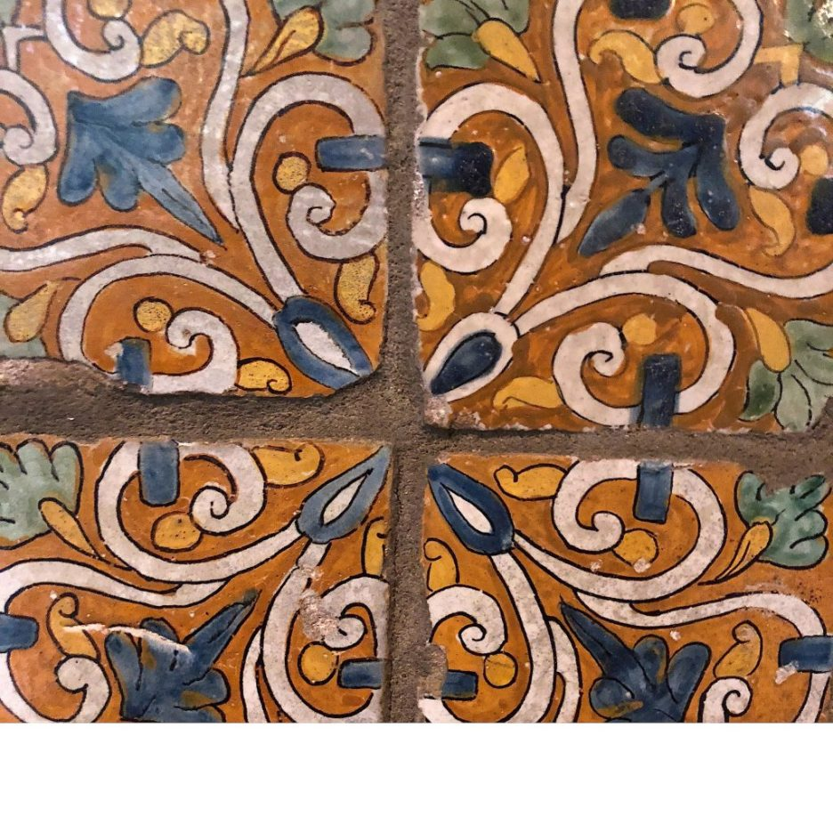 Linda Merrill Staycation Isabella Stewart Gardner museum Spanish wall tiles 4