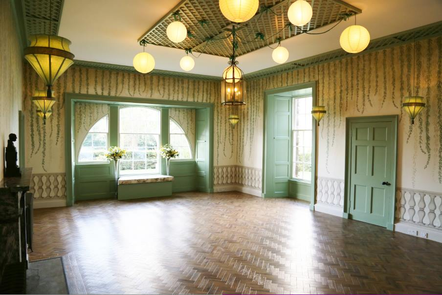 Ardgowan Estate Willow Room finished by empty Ordeal by Innocence