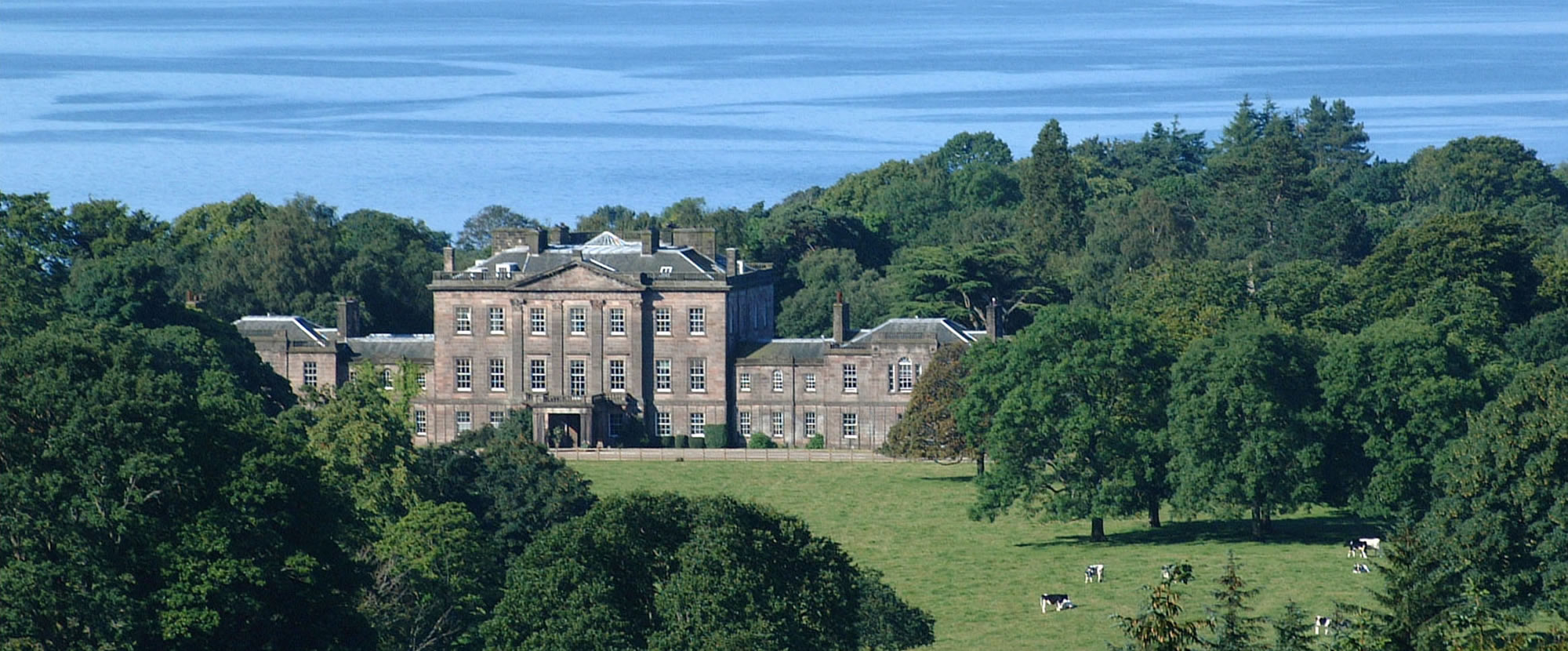 Ardgowan Estate aerial