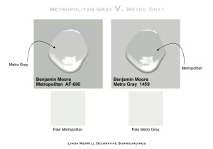 Metropolitan v Metro Gray 2018 Color of the Year Ben Moore