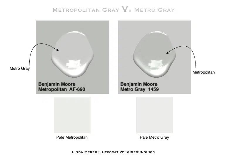 Metropolitan v Metro Gray 2018 Color of the Year Ben Moore