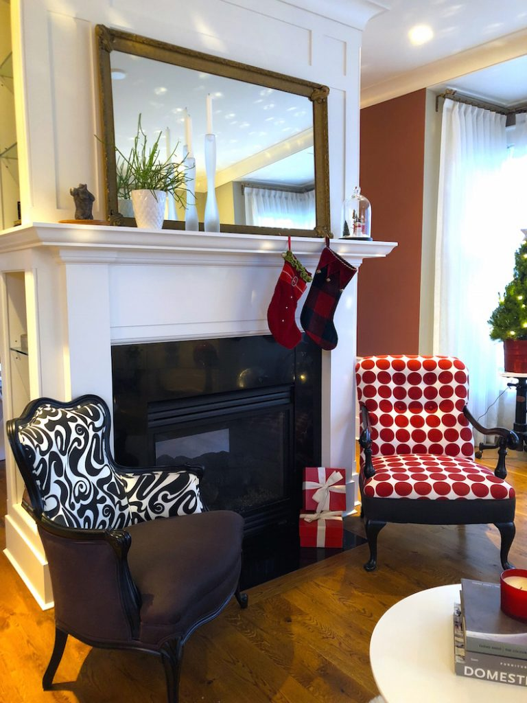 288 High Street Living Room 1 Christmas Holiday House Tour 2018