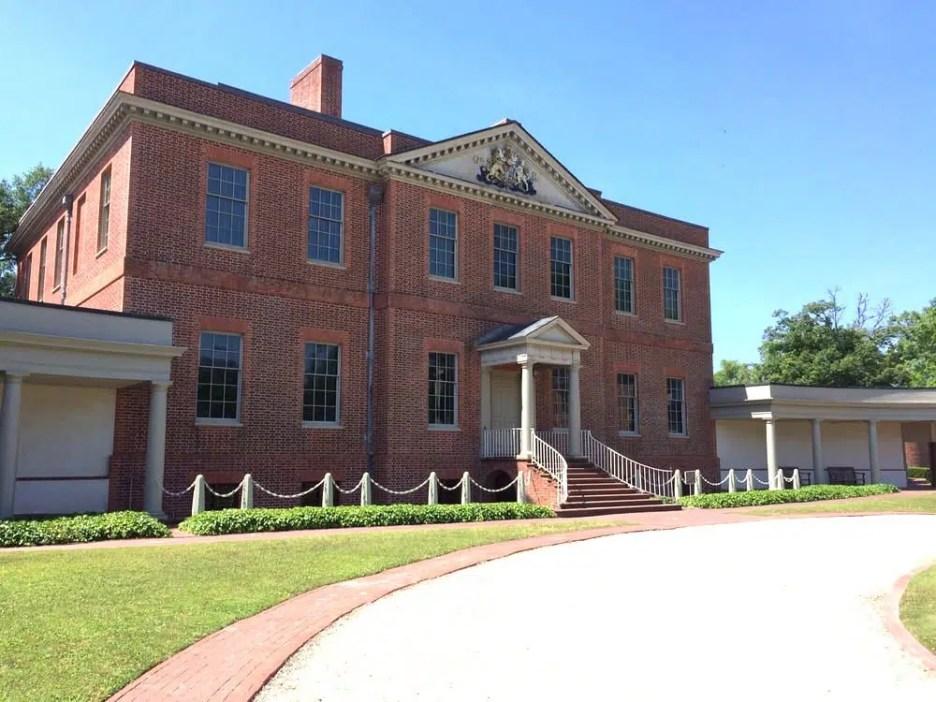 Tryon Palace exterior