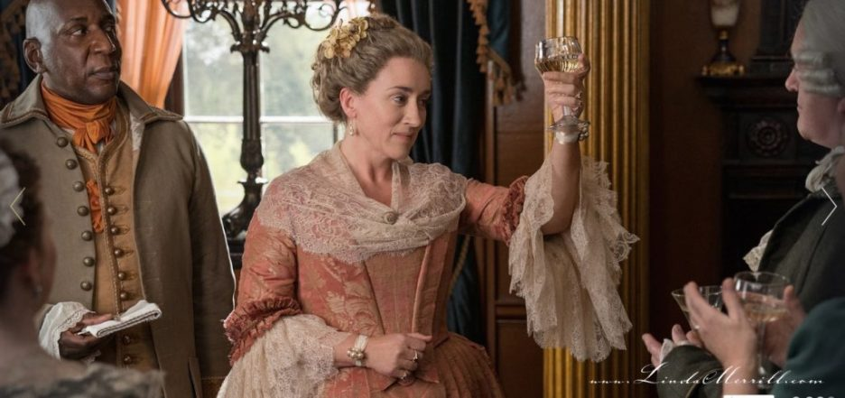 Party Outlander River Run Auntie Jocasta toast