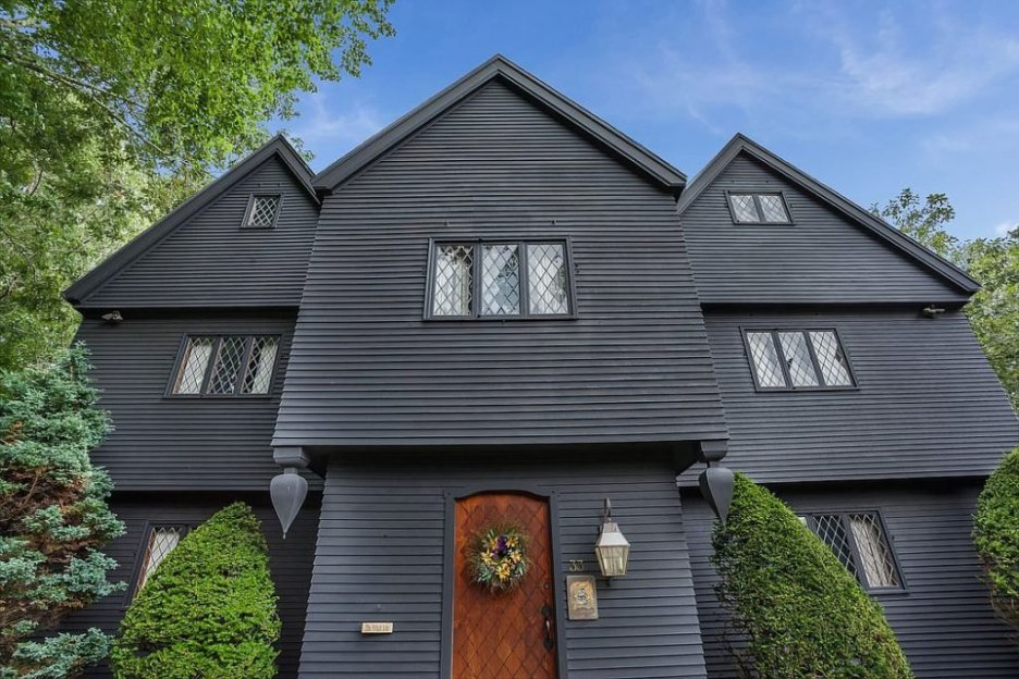 33 Tarragon Dr Sandwich MA Salem Witch House Front Door