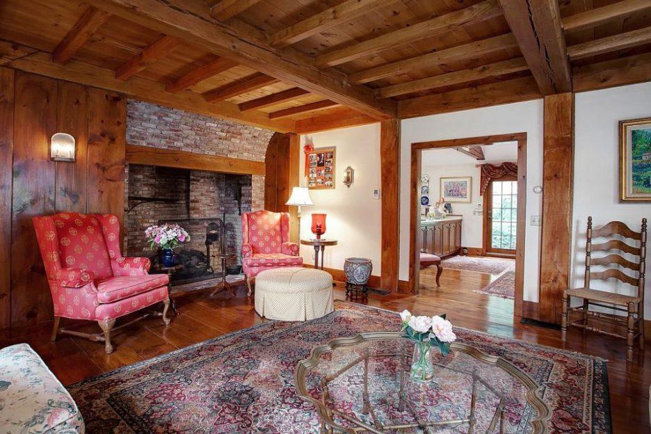 33 Tarragon Dr Sandwich MA Salem Witch House replica sitting room