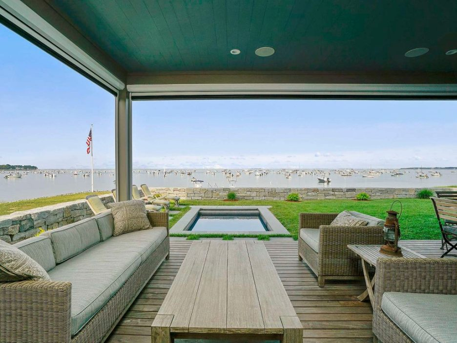 46 Winsor Street Duxbury Bay Ocean view porch Duxbury Bay Home