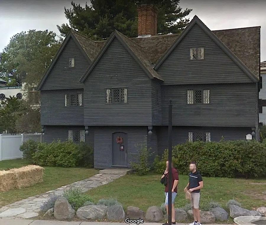 Salem Witch House Google street view