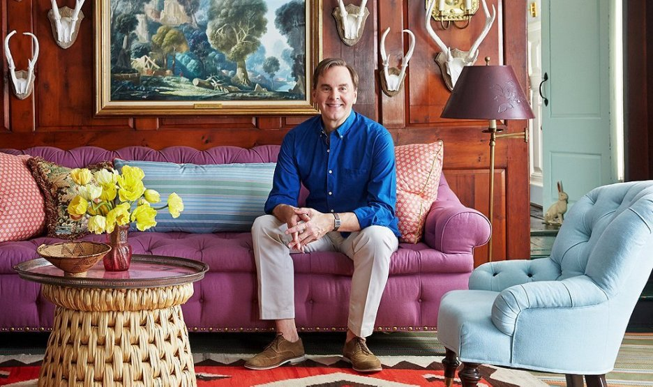 Jeffrey Bilhuber at home Photographer Tony Vu Spring 2019 Desgn Books