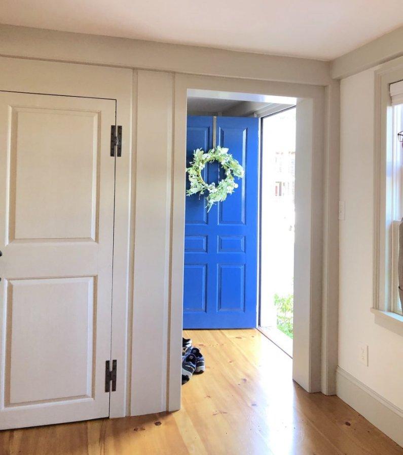 Atwood St Newburyport front door