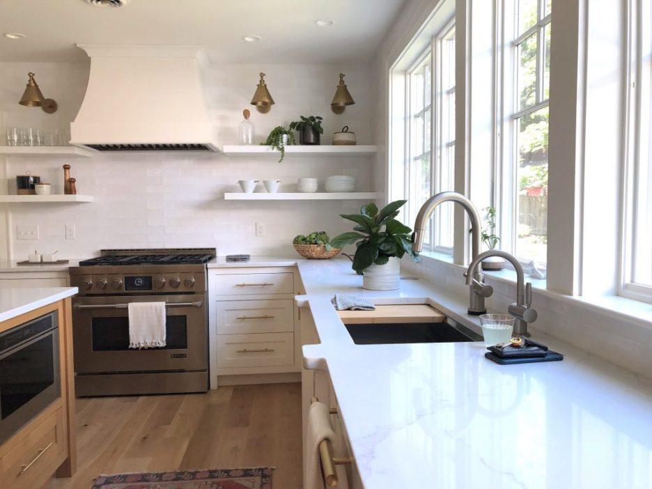 Christopher St Newburyport Kitchen mid-size stylish kitchen