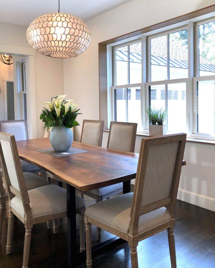 Merrimack St Dining area 1 mid-size stylish kitchens