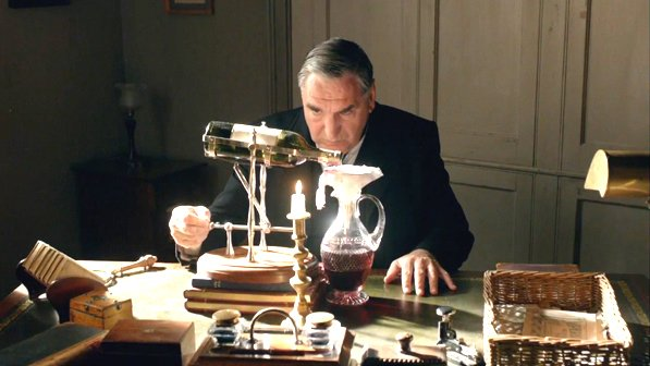 Downton Abbey Carson desk wine