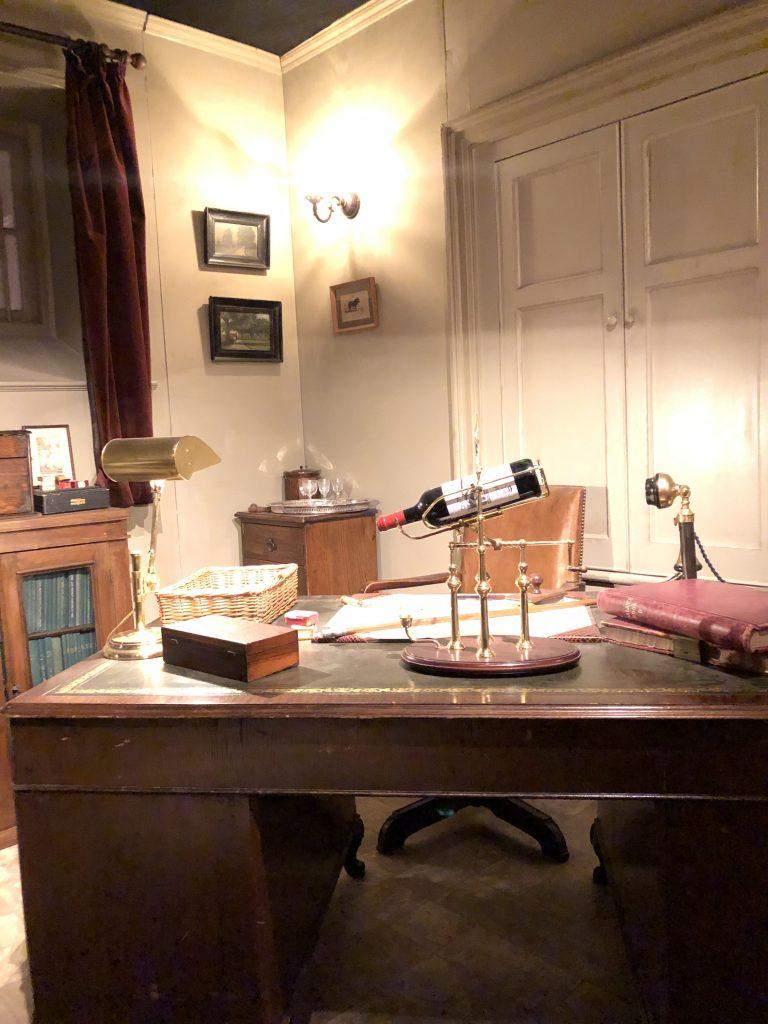 Downton Abbey Carson's desk Downton Abbey Exhibition 7225