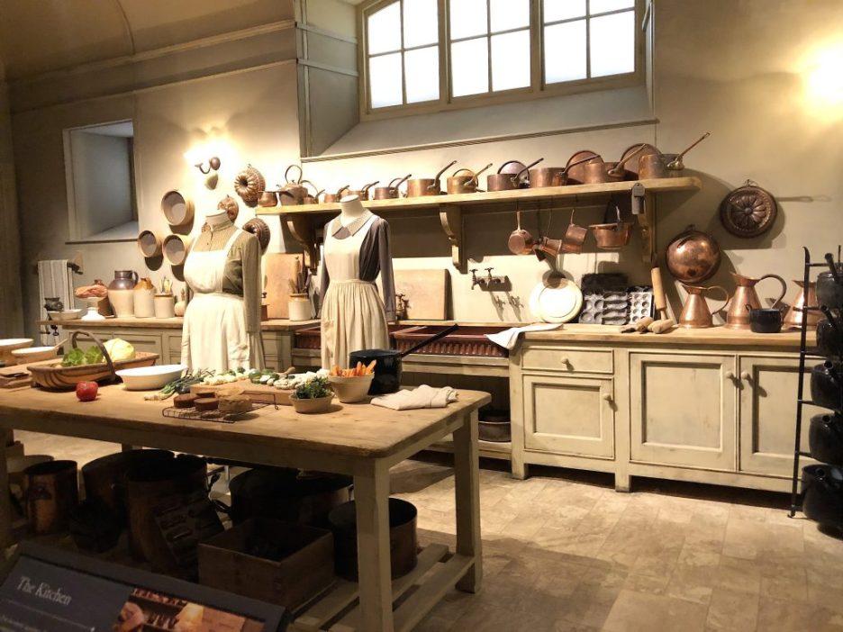 Downton Abbey Kitchen Downton Abbey Exhibition 7219