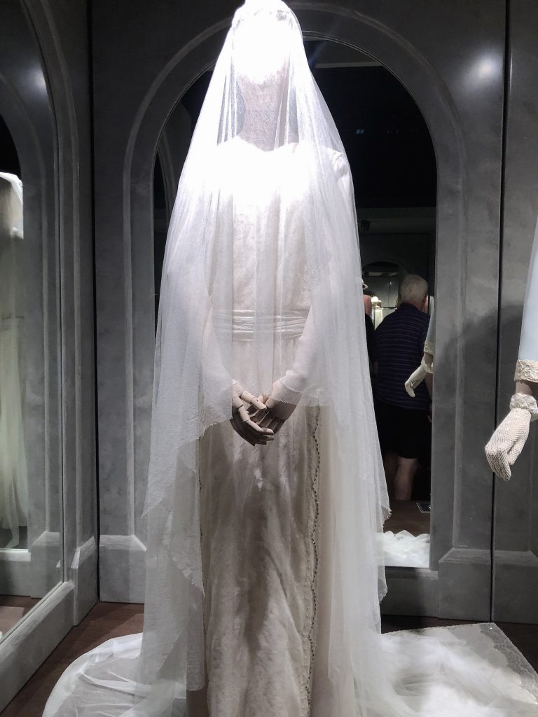 Lady Mary 1st Wedding Dress Downton Abbey Exhibition 7246