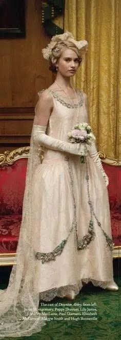 Lady Rose presentation dress