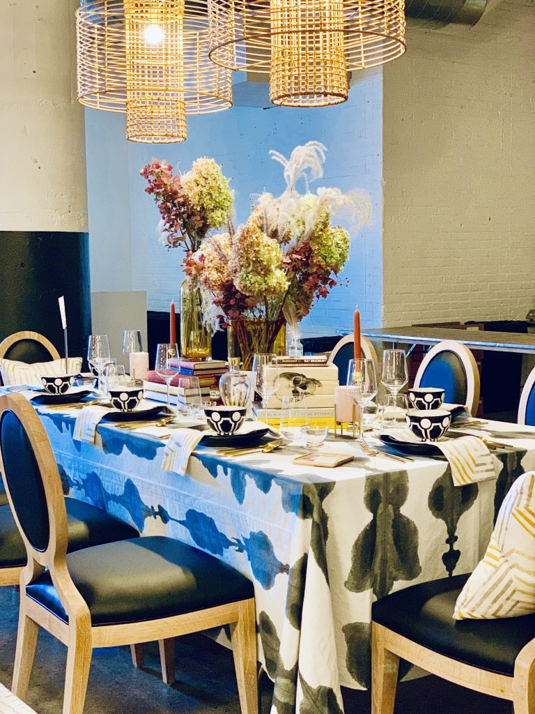 Designer Barbara Elza Hirsch Heading Home to Dinner 2019 Beautiful Tablescapes