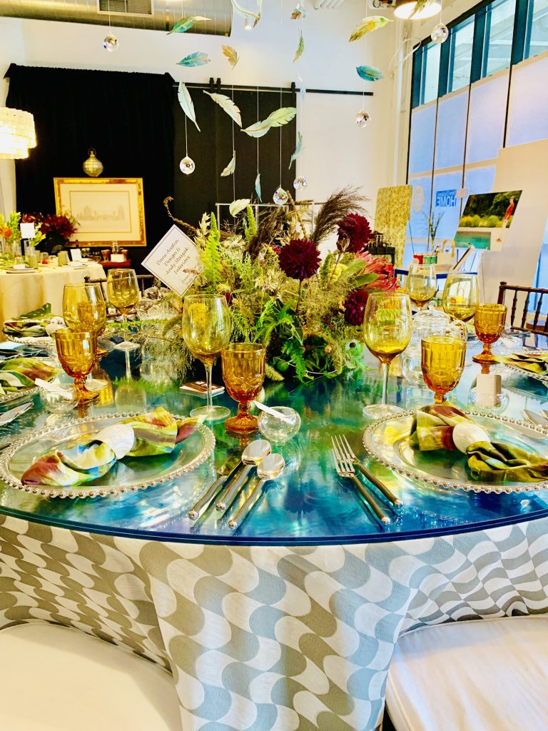 Designer Dane Austin Andy Staszak Heading Home to dinner 2019 Beautiful Tablescapes
