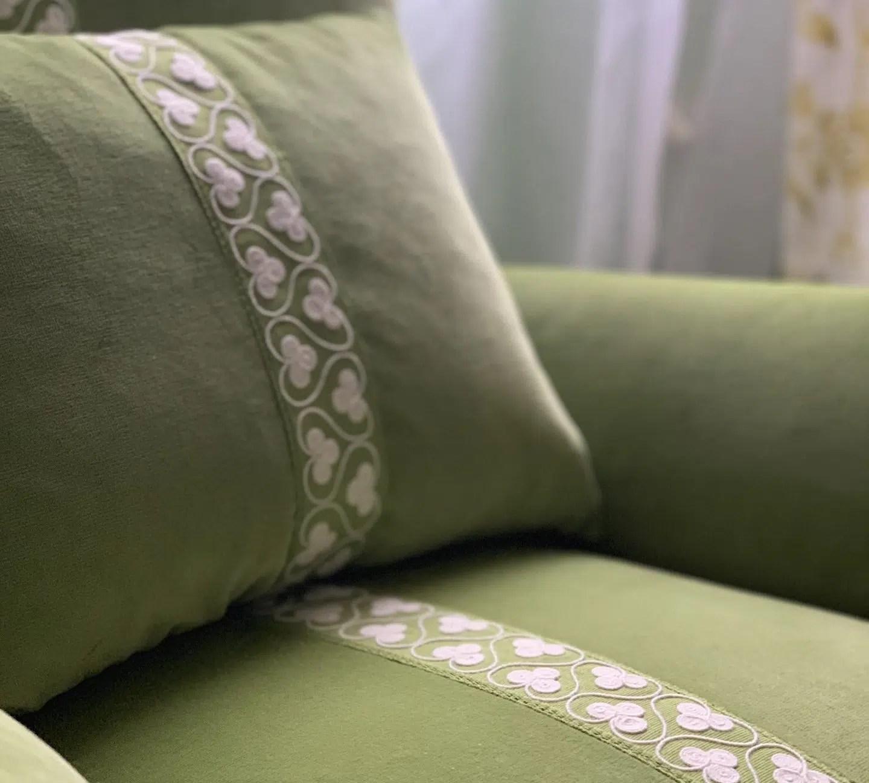 Linda Merrill decoration and design 02332 Duxbury Massachusetts upholstered chair