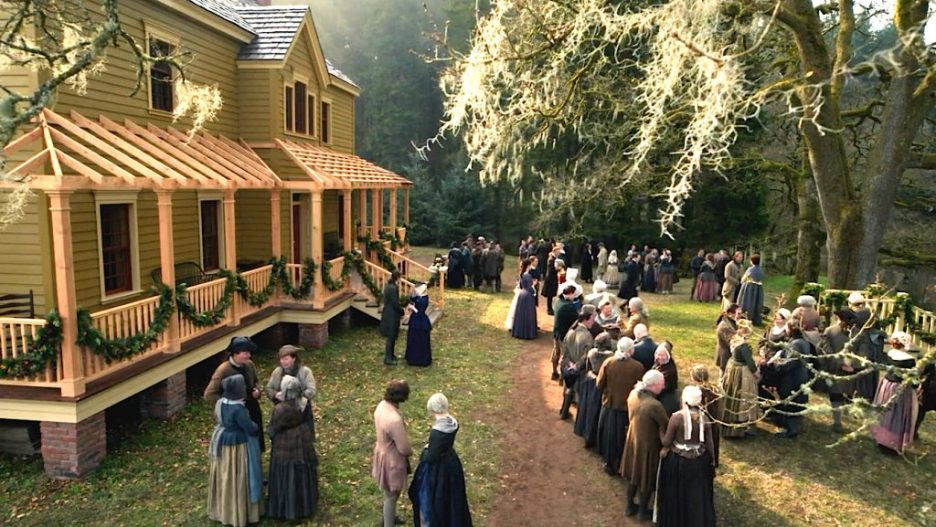 Starz Outlander The Ridge Big House side view Season 5