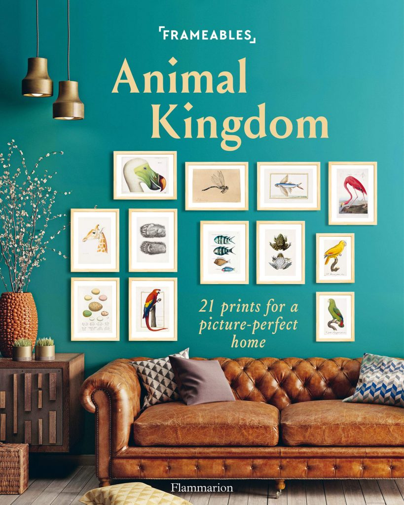 Frameables Animal Kingdom Flammiron Press Framed art