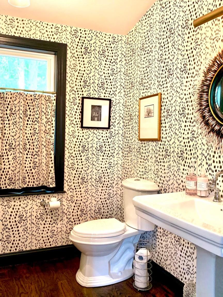 Linda Merrill Bathroom Les Touches Walls and Windows Boston
