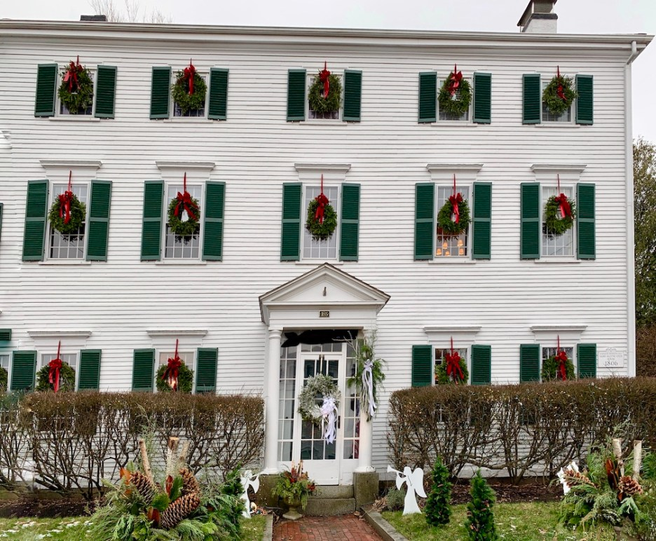 Newburyport 2020 Holiday House Tour White Federal High Street 1
