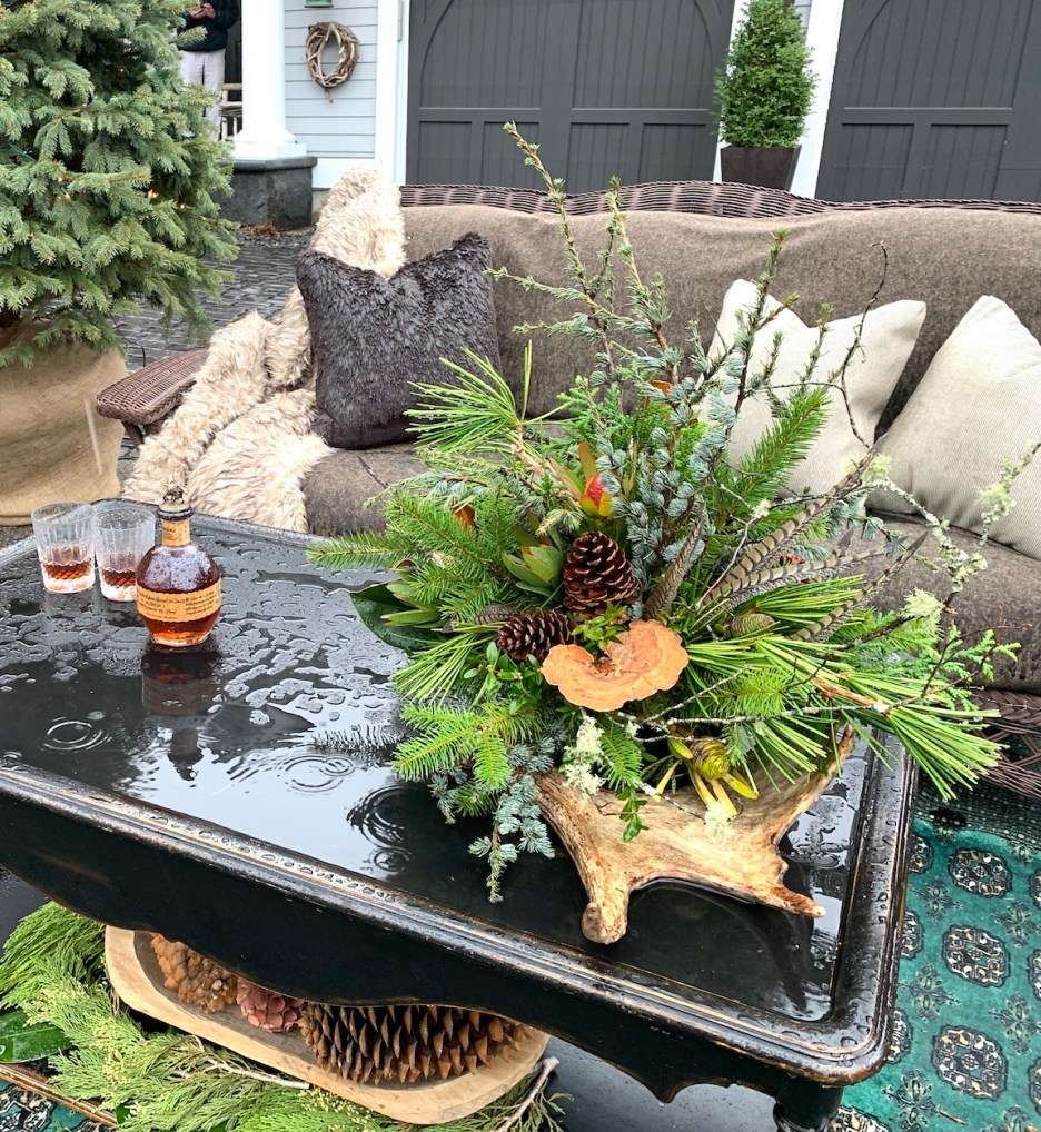 Newburyport 2020 Holiday House Tour Amesbury Main Street custom home Yellowstone Montana outdoor coffee table