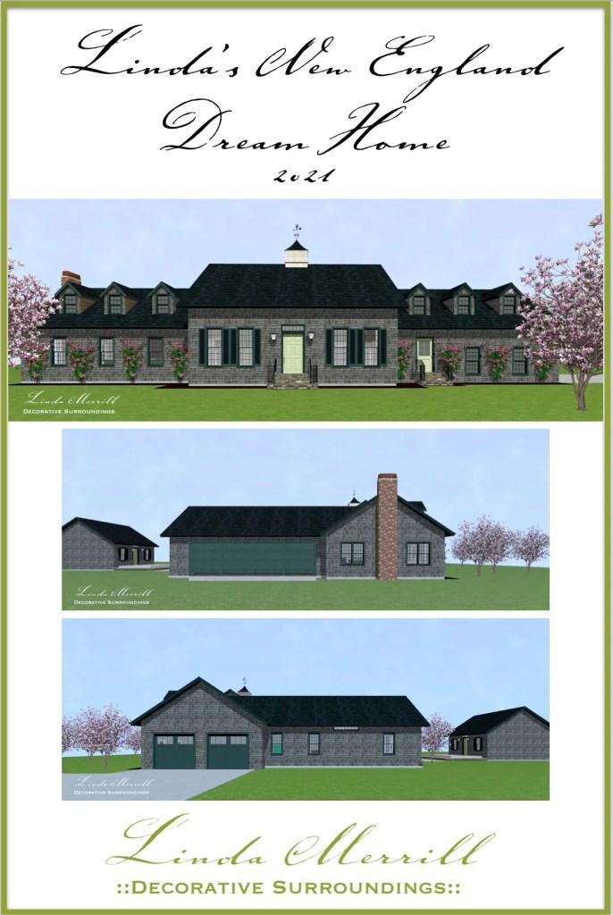 Linda's New England Dream Home 2021 Pinterest Pin 052021