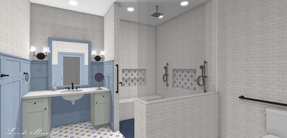 Linda Merrill Dream Home ADA Bathroom 1 Design for Accessible Universal Living
