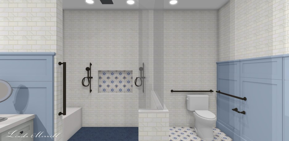 Linda Merrill Dream Home ADA Bathroom 3 Accessible Design for Accessible Universal Living