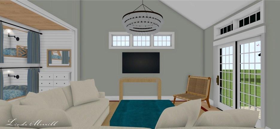 Linda Merrill Pool House 1 Dream Home 2021